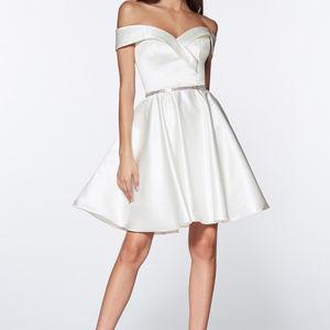 Sweetheart A-Line Cocktail Short Dress